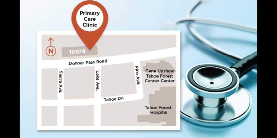 Primary Care Clinic map